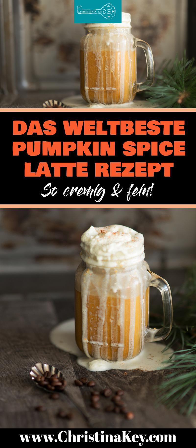 Kürbis Rezepte Pumpkin Spice Latte