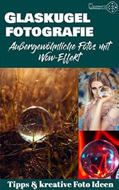 Geschenke für Fotografen Glaskugel Buch