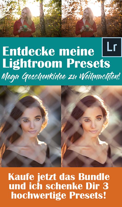 Lightroom Presets Geschenkidee Fotografen