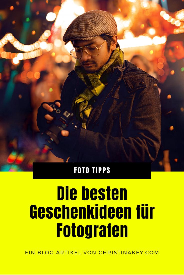 Geschenkideen für Fotografen kreativ Tipps