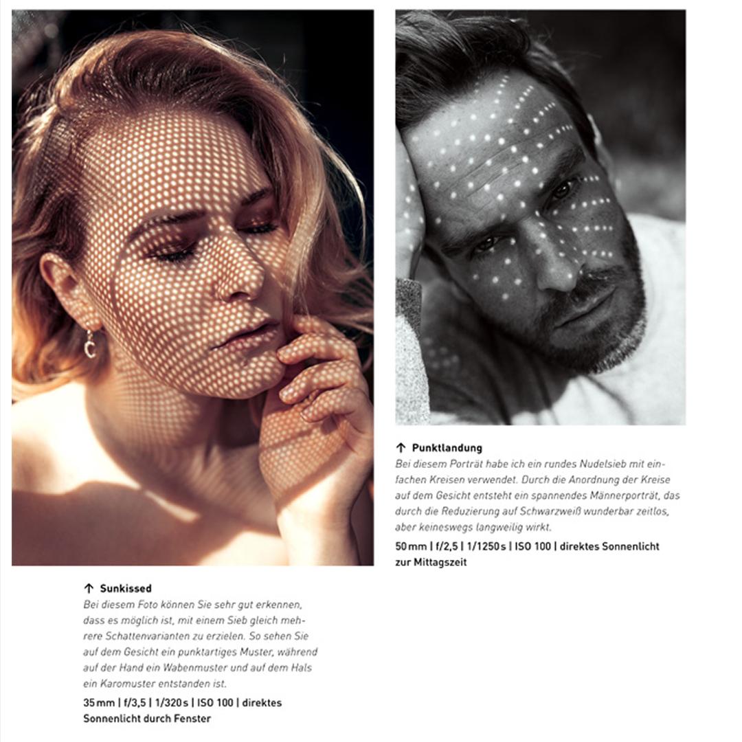 Foto Hacks Sieb verwenden um Schatten zu erzeugen Bild
