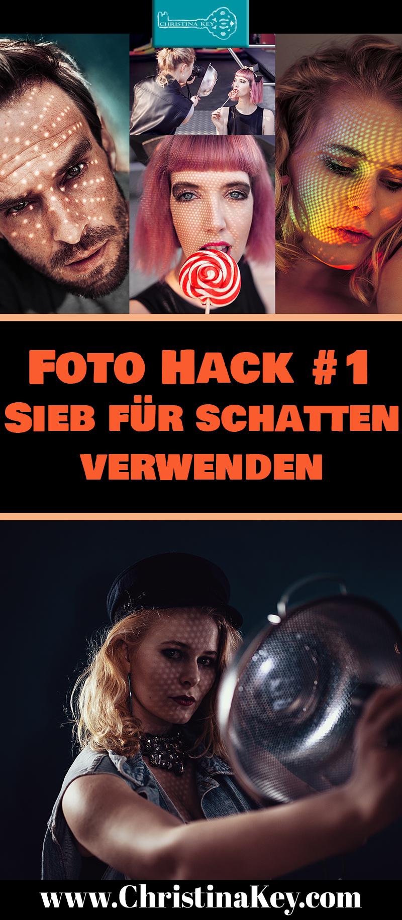 Foto Hacks Sieb verwenden um Schatten zu verwenden