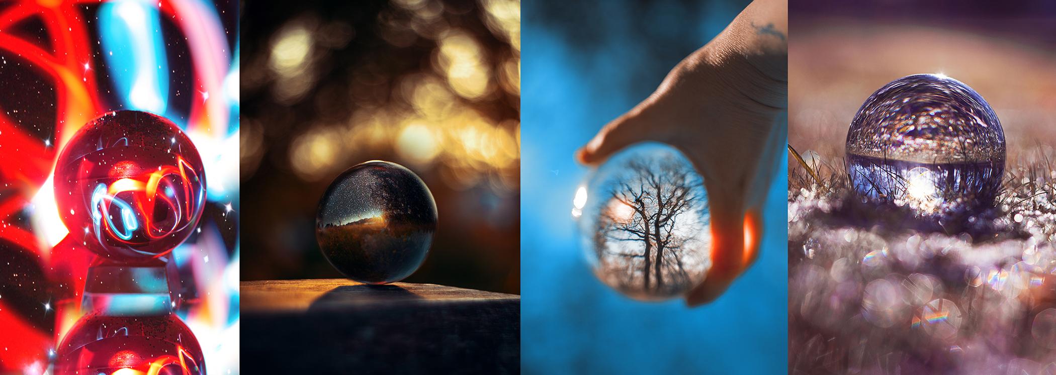 Glaskugel-Fotografie-Bilder