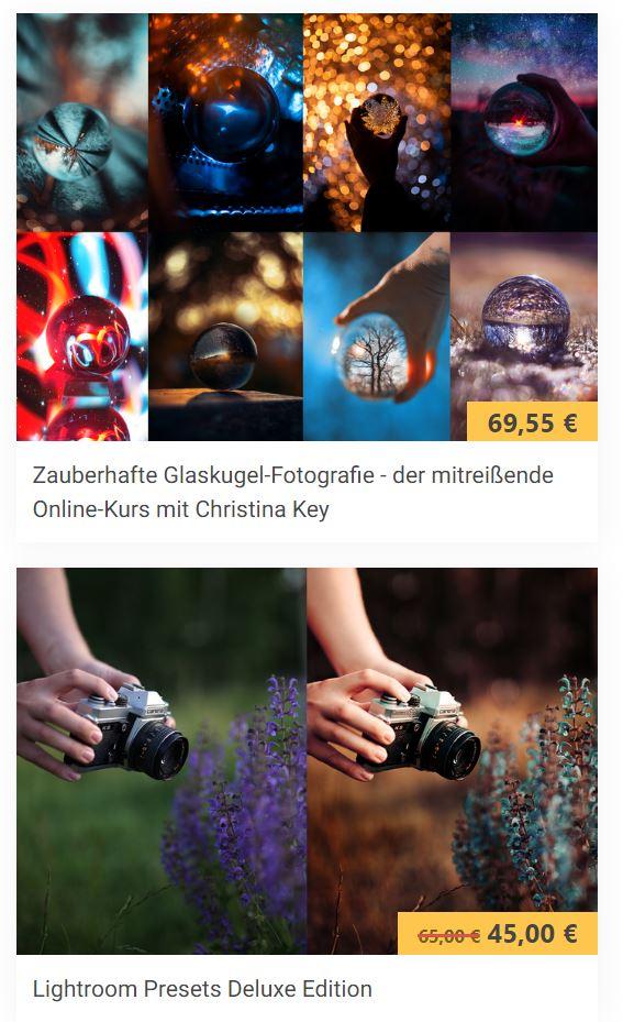 Glaskugel-Fotografie Online Fotografie Kurs