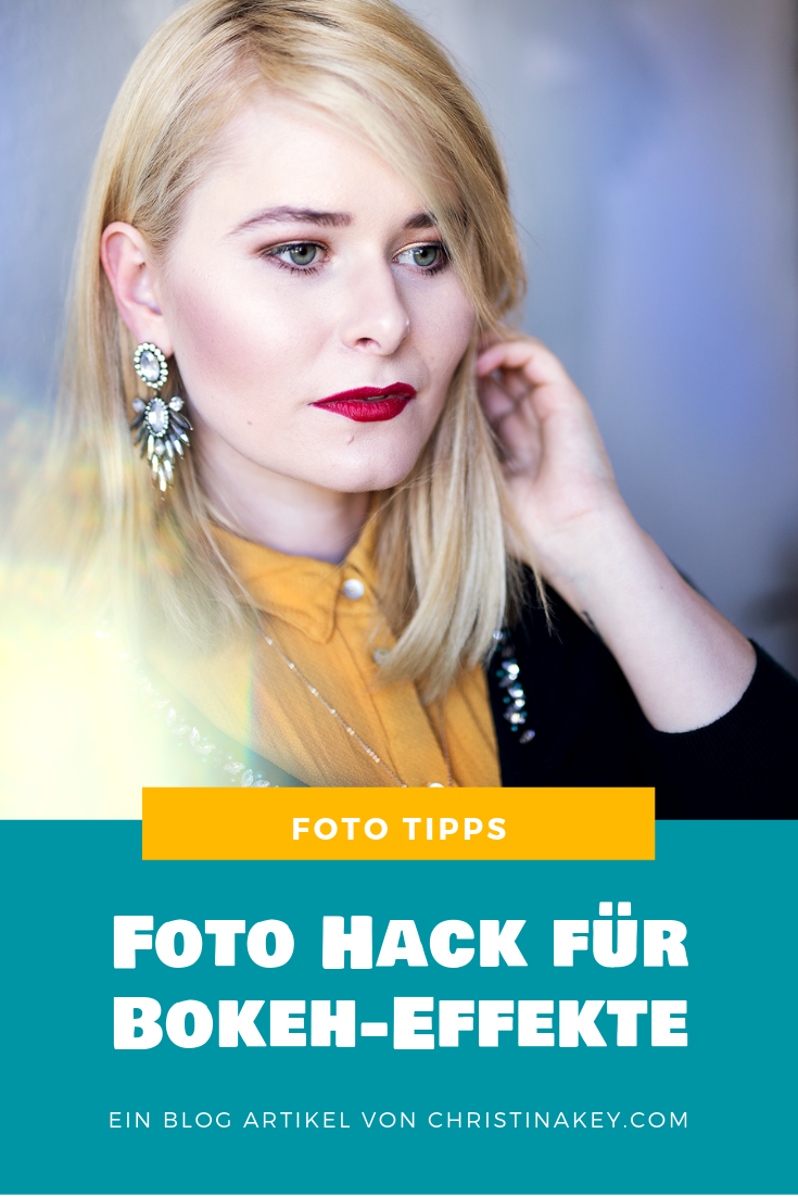 Foto Hack für Bokeh Effekte