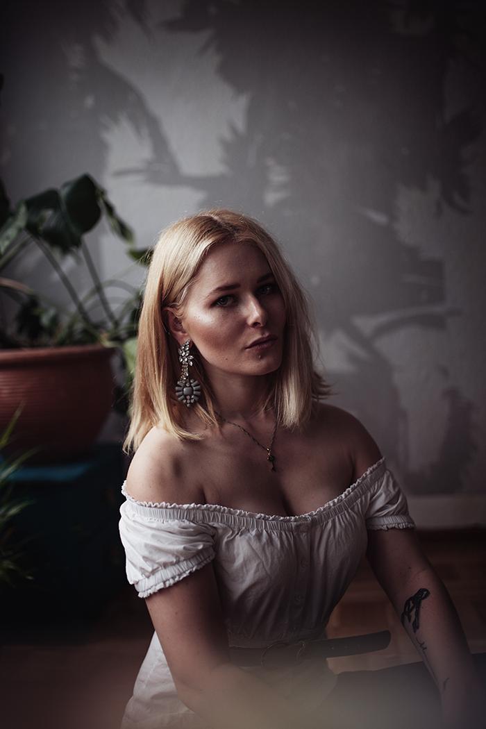 Selbstportraits mit natürlichem Licht Christina Key