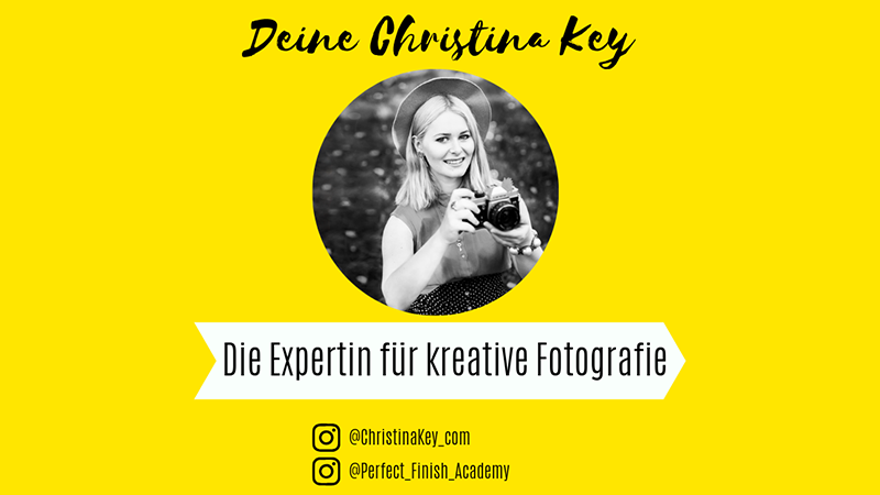Expertin kreative Fotografie