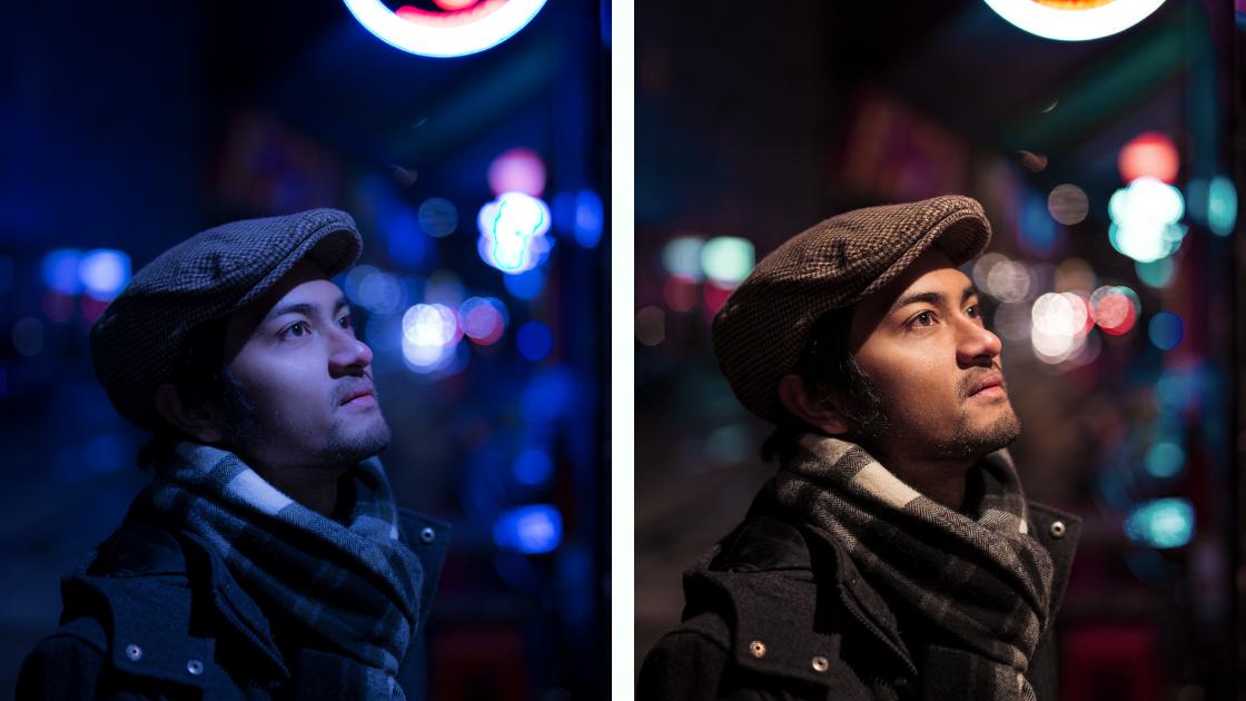 Männer Portrait Nachbearbeitung