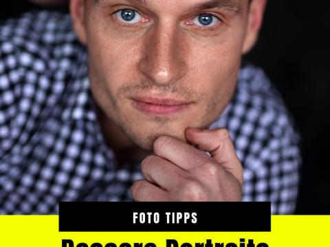 Photoshop Hack Nachbearbeitung Portrait Mann