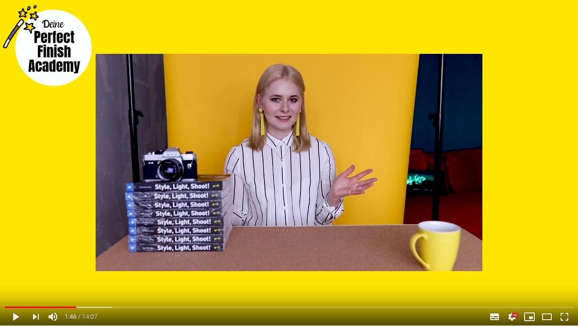 Pickel weg retuschieren Tipps Photoshop Video