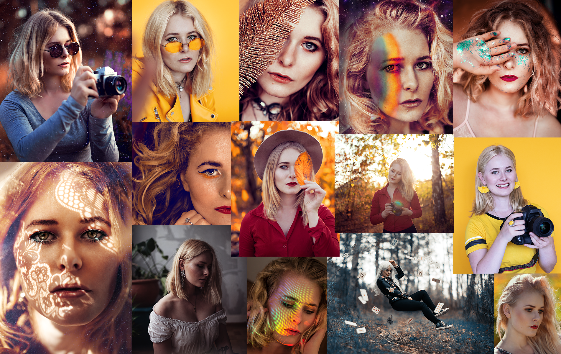 Selbstportraits kreative Fotografie Expertin Christina Key