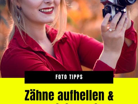 Zähne aufhellen in Photoshop