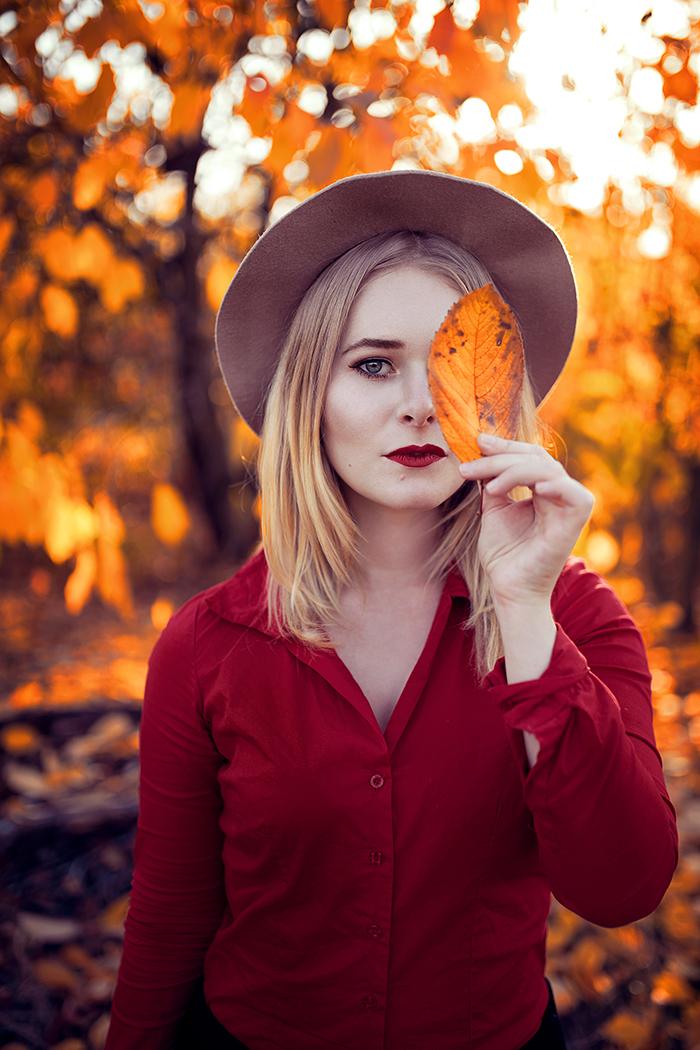 Selbstportraits Tipps und Ideen Herbst