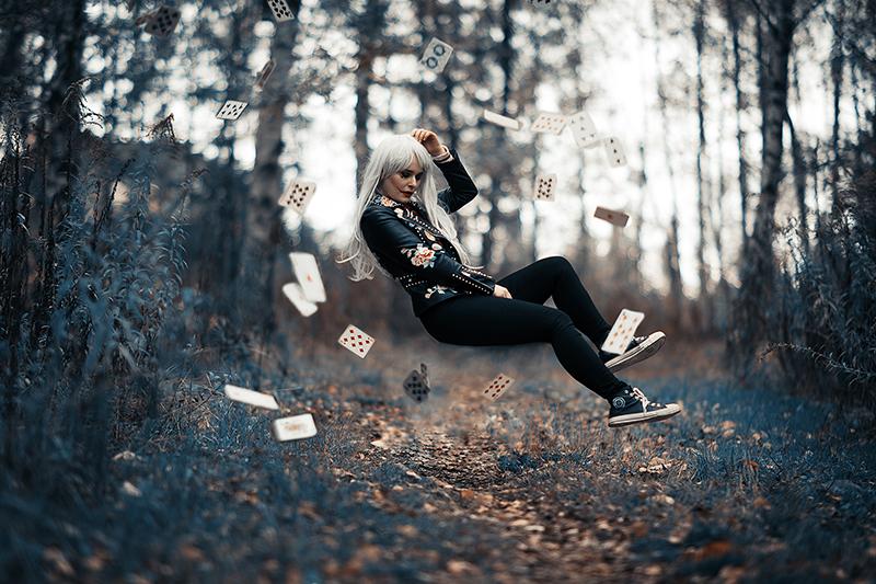 Selbstportraits Tipps und Ideen Levitation