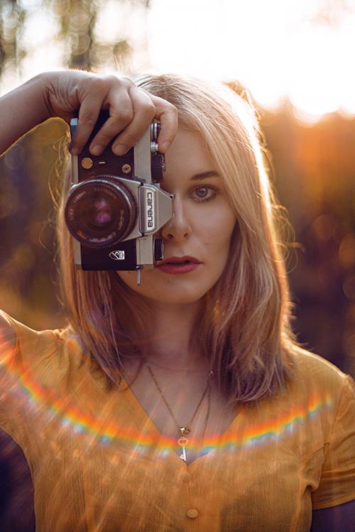 Selbstportraits bei Gegenlicht Tipps und Inspiration