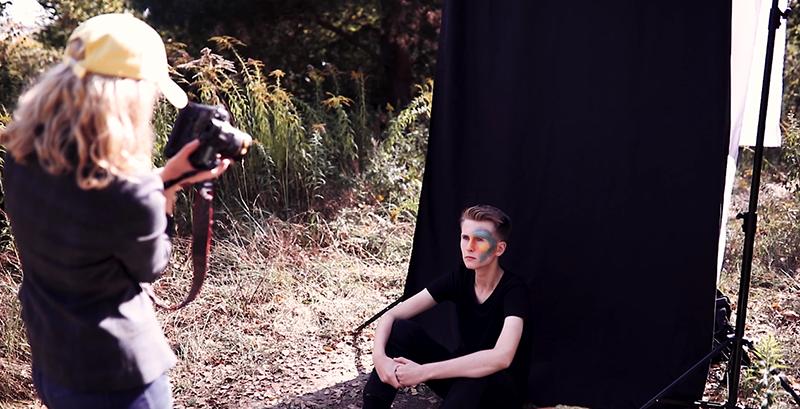 Buntes Portraitshooting im Herbst Foto Tipps