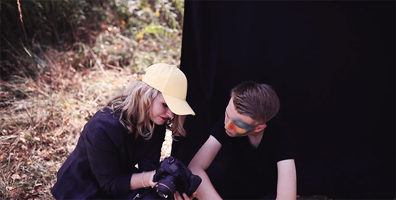 Buntes Portraitshooting im Herbst Tipps