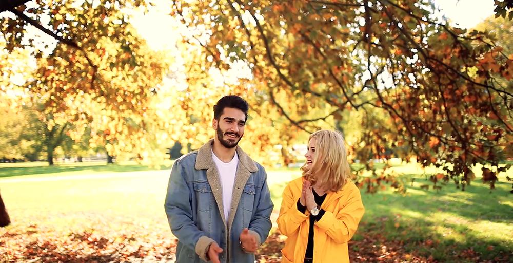 Fotoshooting mit Mann im Herbst Christina Key