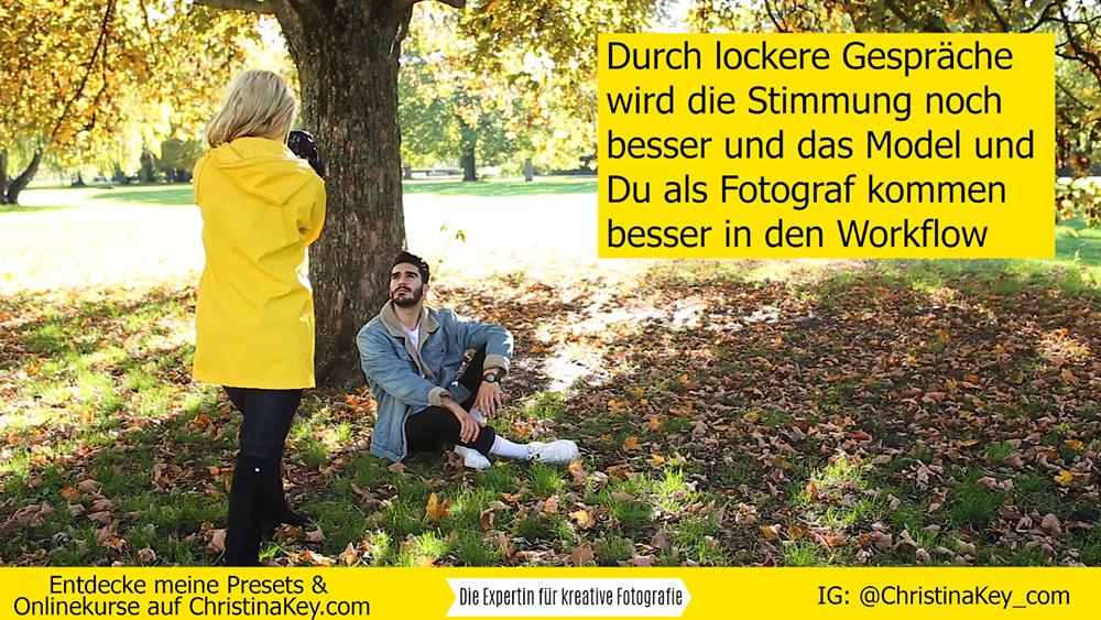 Fotoshooting mit Mann im Herbst Foto Tipps