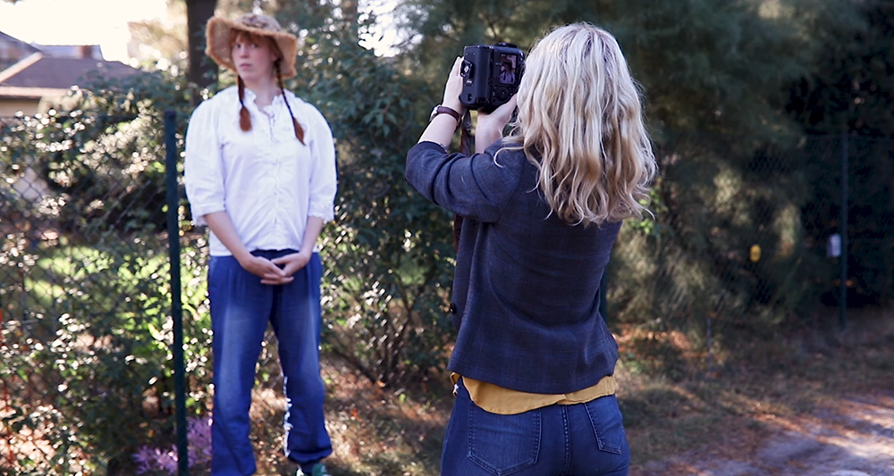 Fotoshooting mit rothaarigem Model Fotografie Tipps