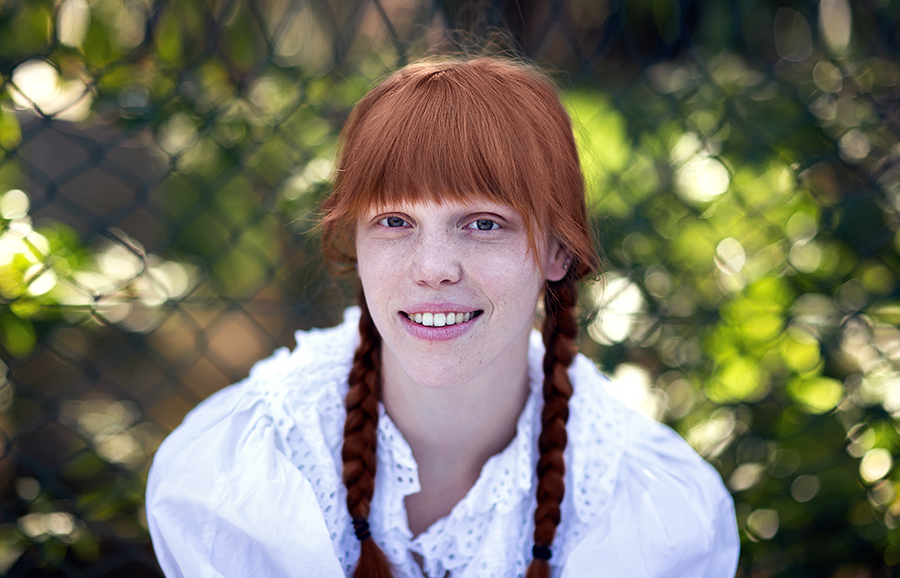 Fotoshooting mit rothaarigem Model Portrait Tipps