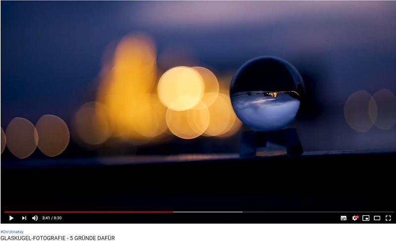Glaskugel-Fotografie Tipps