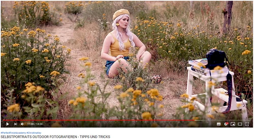 Selbstportraits Outdoor fotografieren Video mit Tipps