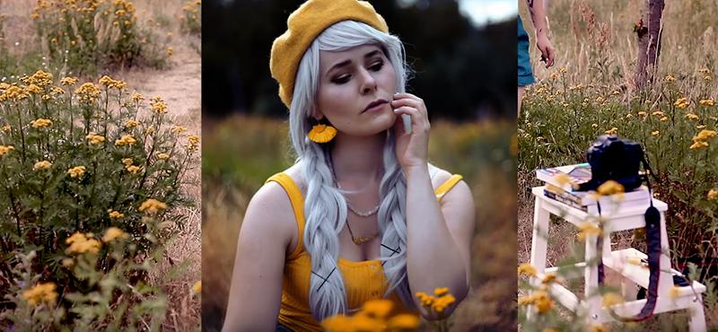 Selbstportraits Outdoor fotografieren Video