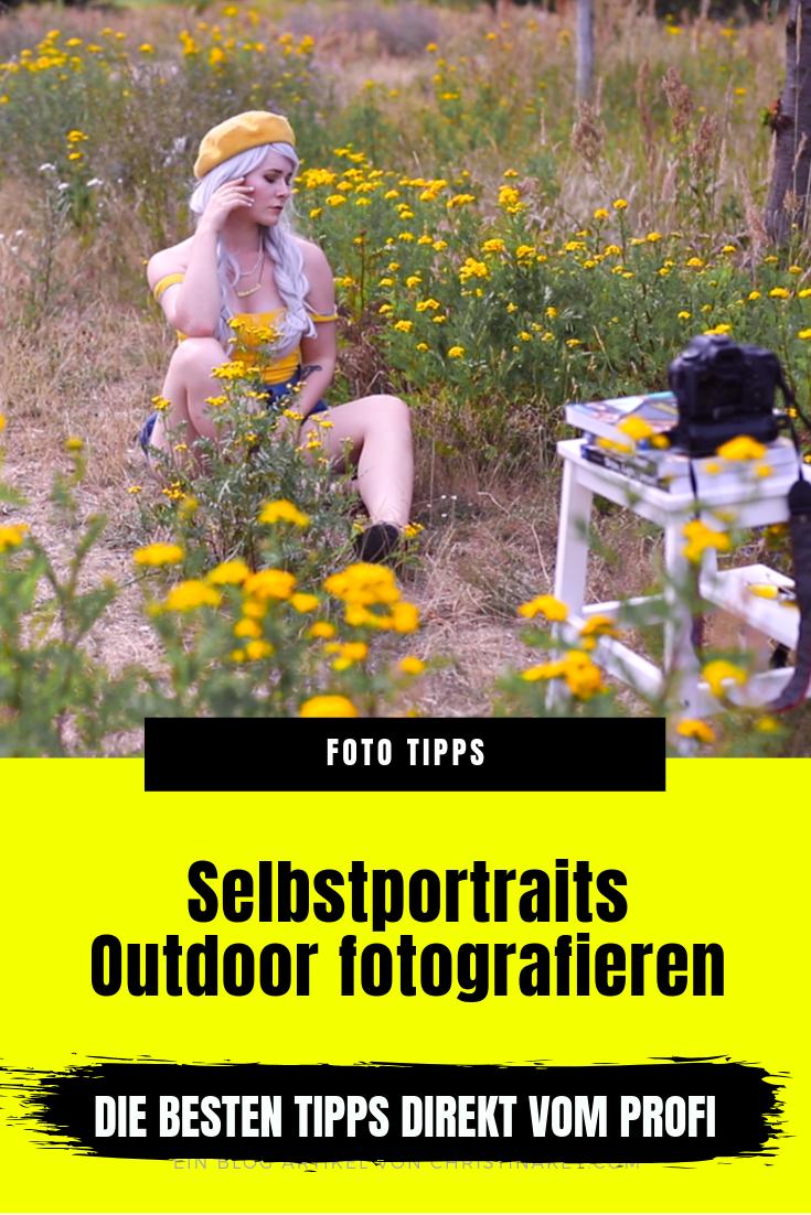 Selbstportraits Outdoor fotografieren