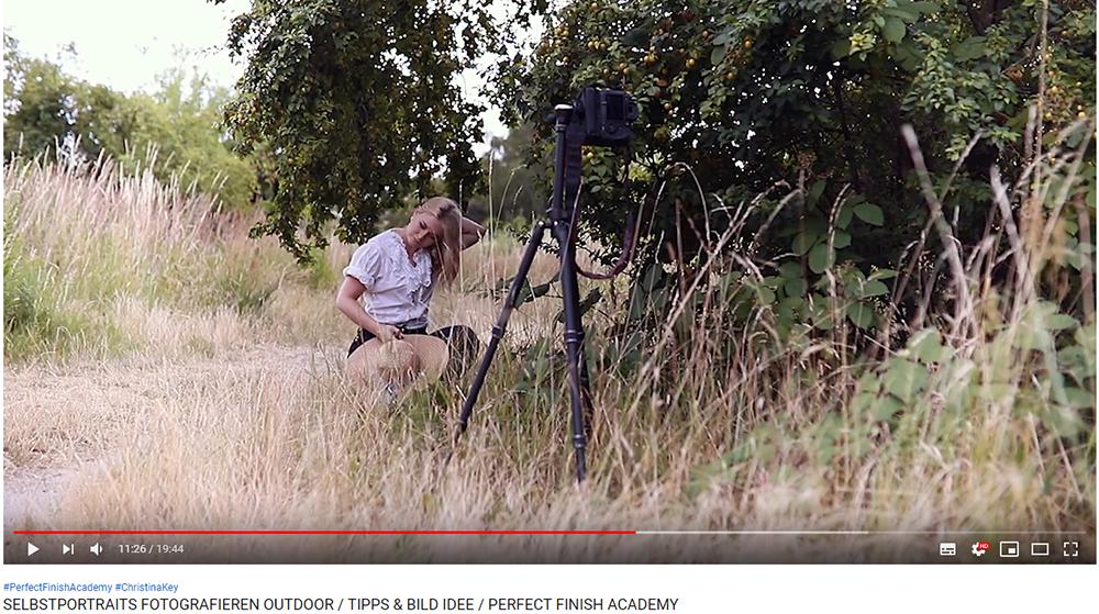 Selbstportraits bei natürlichem Licht Video