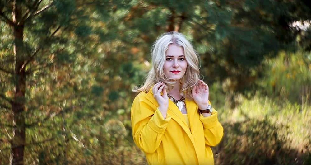 Selbstportraits im Herbst fotografieren