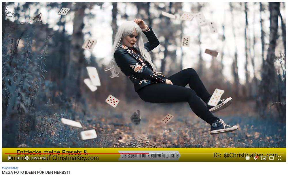 Mega Foto Ideen für den Herbst Levitation