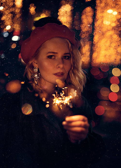 Mega Foto Ideen für den Herbst Wunderkerze Portrait