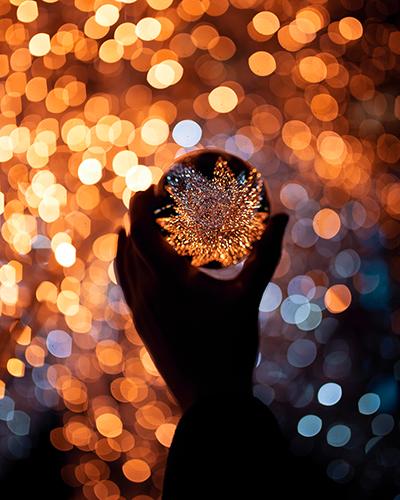 Foto Tipps für Weihnachten Glaskugel Fotografie