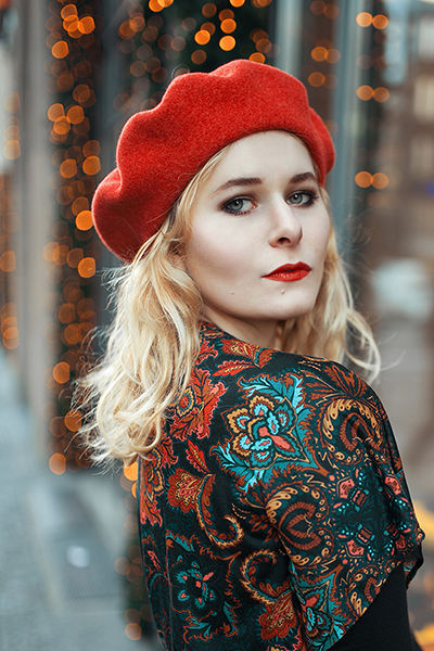Foto Tipps für Weihnachten Selbstportrait