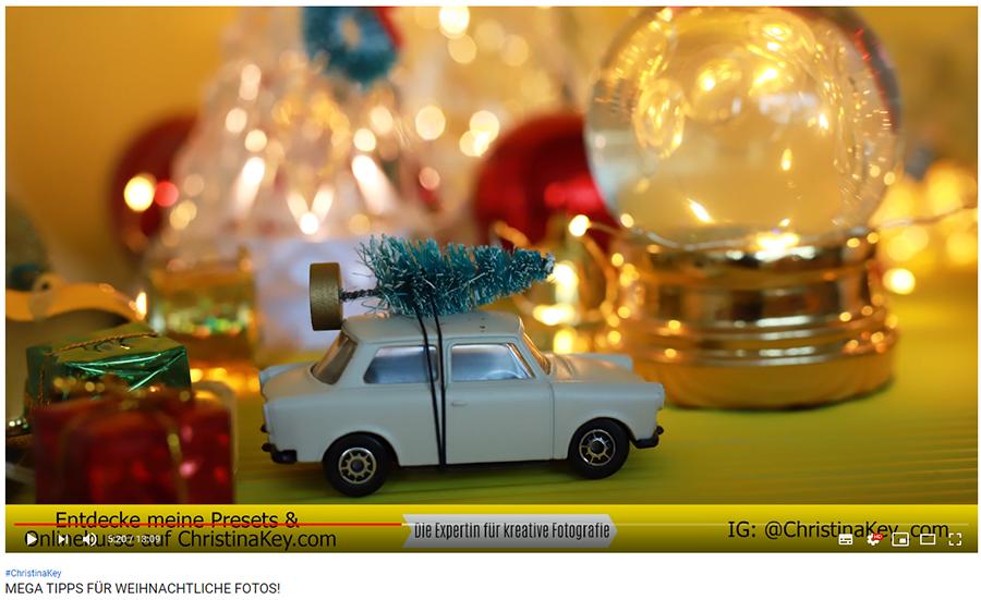 Foto Tipps für Weihnachten Video
