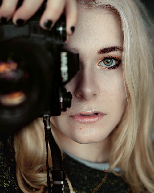 Selbstportrait Christina Key