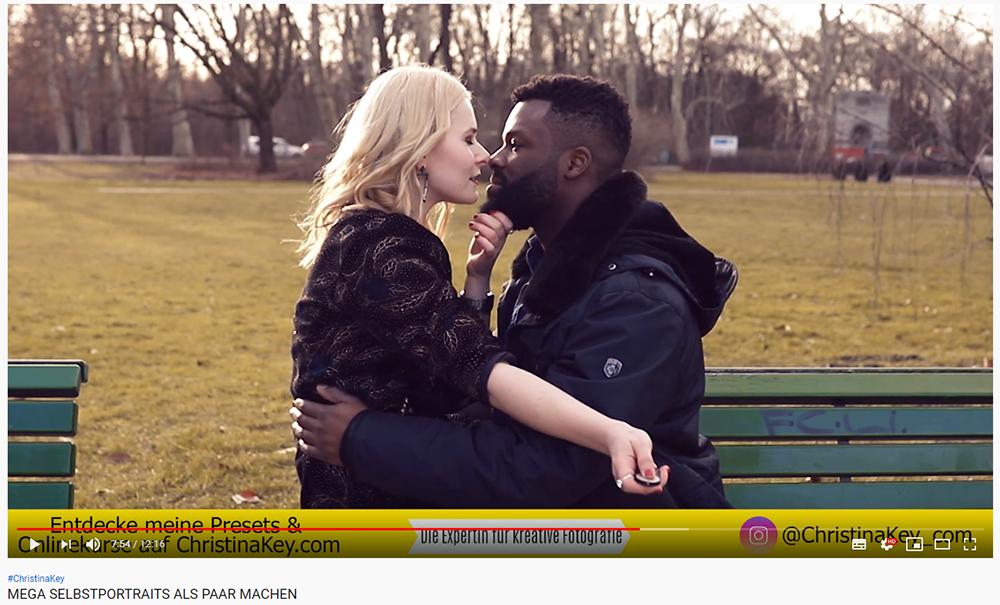 Selbstportraits als Paar machen Video