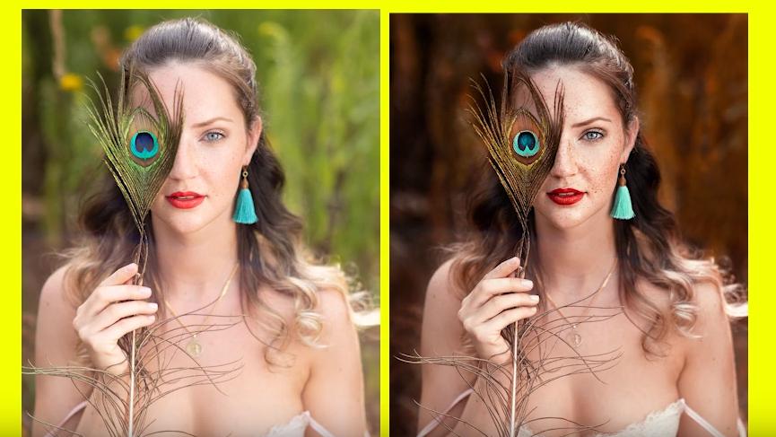 Fotografie Tipps - Frauen Portrait Outdoor Bildbearbeitung