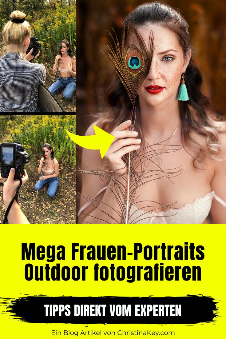 Fotografie Tipps - Frauen Portrait Outdoor