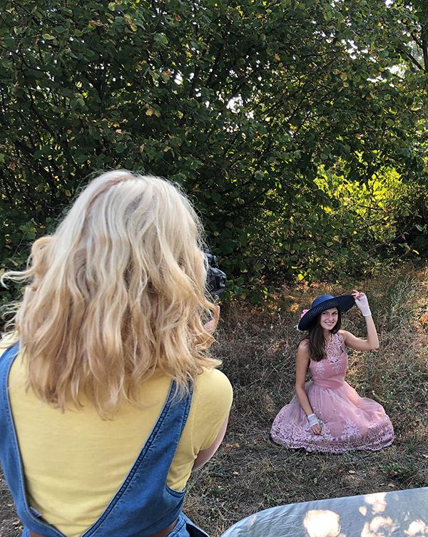 Fotografie Tipps - Romantisches Fotoshooting Outdoor fotografieren