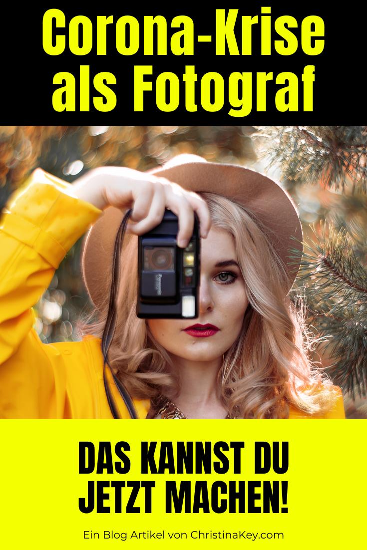Corona-Krise als Fotograf - Was Du jetzt machen kannst