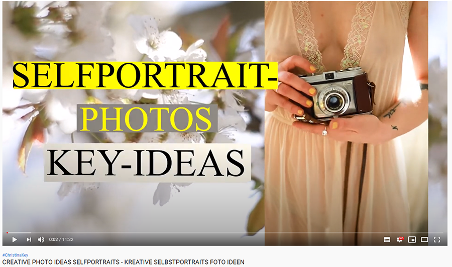 Kreative Selbstportraits - Foto Ideen Video Portraits