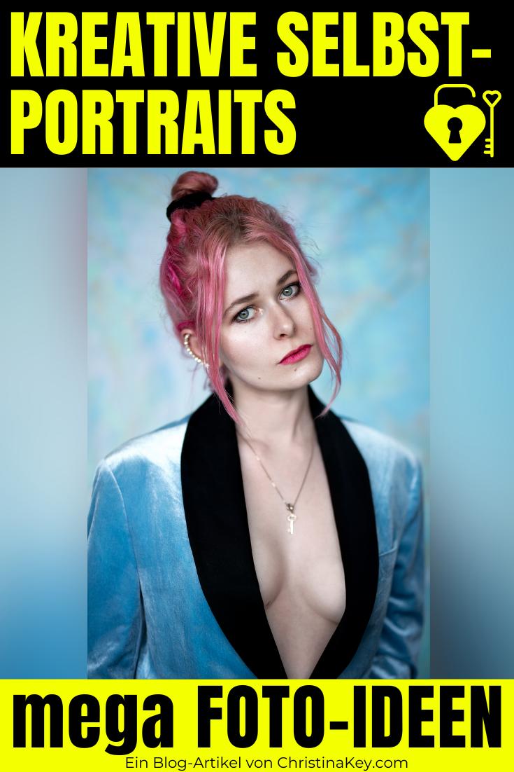 Kreative Selbstportraits - Foto Ideen