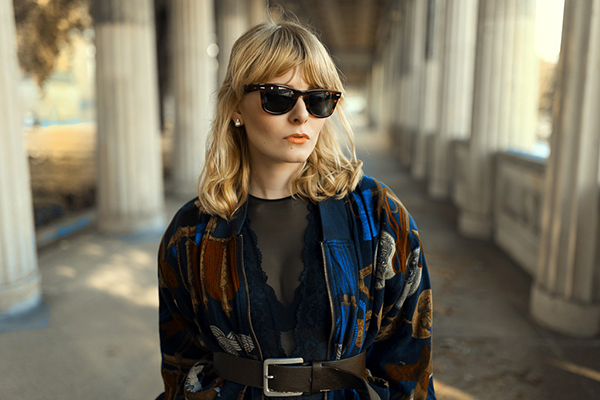 Bomberjacke Outfit Christina Key