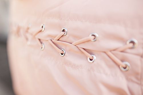 Bomberjacke Outfit rosa