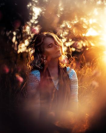 Das perfekte Selfie Licht Gegenlicht Christina Key