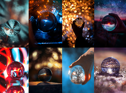 Glaskugel-Fotografie Online-Kurs