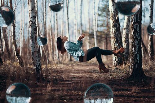 Lensball Fotografie Levitation