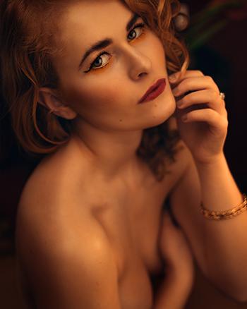 Erotische Fotografie Portrait Frau